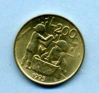 1995 200 LIRA - Saint-Marin