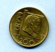 1996 200 LIRA - San Marino
