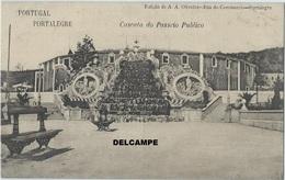 PORTALEGRE (Portugal) - Cascata Do Passeio Publico - Edição De A. A. Oliveira - C. 1910-20's - Portalegre