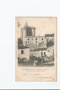 MORTHEMER (VIENNE) 453  LE DONJON DU CHATEAU VUE PRISE DU PONT DU MOULIN DU SUD 1902 - Autres Communes