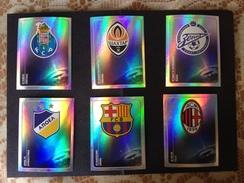 UEFA CHAMPIONS LEAGUE - OFFICIAL 2011 / 2012 - N° 06 SCUDETTI PANINI - - Panini