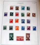 ITALIA 1945 - 1948 SERIE DEMOCRATICA COMPLETA 23 VALORI MNH** - 6. 1946-.. Repubblica