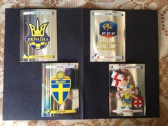 UEFA - EURO 2012 - N° 04 SCUDETTI PANINI - - Panini