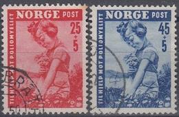 NORUEGA 1950 Nº 320/21 USADO - Noruega