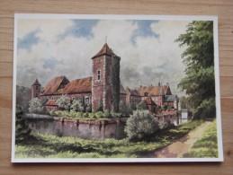 AK - Westfälische Wasserburgen Nach Aquarellen Von C. Determeyer: Haus Hülshoff - Roxel - Münster - Münster