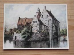 AK - Westfälische Wasserburgen Nach Aquarellen Von C. Determeyer: Burg Vischering - Lüdinghausen / Coesfeld - Lüdinghausen