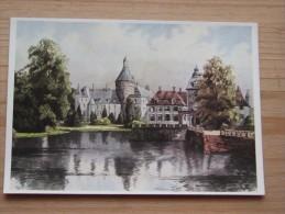 AK - Westfälische Wasserburgen Nach Aquarellen Von C. Determeyer: Schloss Anholt - Bei Borken - Borken