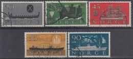 NORUEGA 1960 Nº 402/06 USADO - Noruega