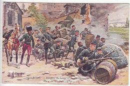 Colour Postcard: Les Belges - Defense De Liege Et De Ses Environs, 30 July 1917 - War 1914-18