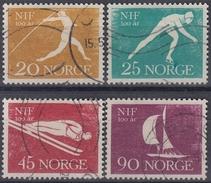 NORUEGA 1961 Nº 409/12 USADO - Noruega