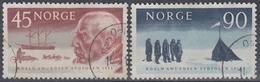 NORUEGA 1961 Nº 419/20 USADO - Noruega