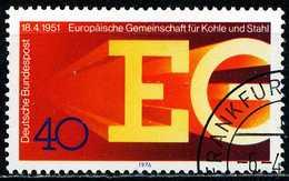 BRD - Michel 880 - OO Gestempelt (A) - 25 Jahre EGKS - Gebruikt
