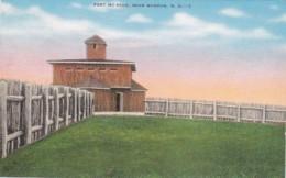 North Dakota Mandan Fort McKeen 1942 - Mandan