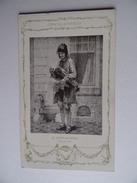 Carte Postale CHOCOLAT VINAY Le Joueur De Vielle Série VIII 28 Sujets N° 22 - Advertising