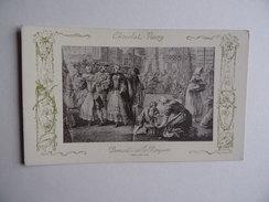Carte Postale CHOCOLAT VINAY Promenade Sur Les Remparts Série VIII 28 Sujets N° 28 - Publicité