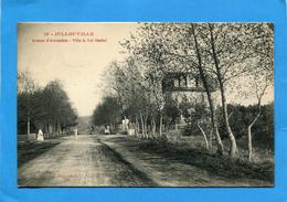 """JULLOUVILLE-avenue D'avranches-villa Val Nombré-a Voyagé"""" En 1916-édition Puel - France"""