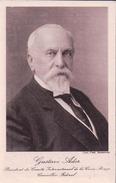 Gustave Ador, Conseiller Fédéral Et Président Du CICR, Photo Fred. Boissonnas (3100) - Personnages