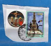 Romania - ° 2014-2016 - Su Frammento.   Vedi Descrizione - 1948-.... Repubbliche