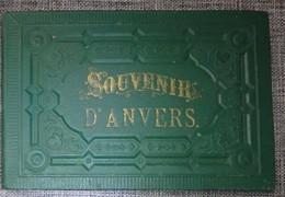 Belgique  Livret Carnet 24 Cartes Photos Souvenir D'Anvers - Autres