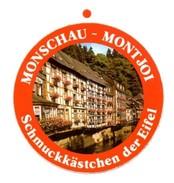 Sticker. Monschau - Montjoi. - Chmuckkästchen Der Eifel - Stickers