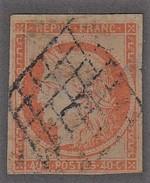 N 5   40C ORANGE - B/TB - 1849-1850 Cérès
