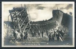 Von Den Russen Gesprengter Viadukt Bei Zborow, 20.09.1915/ Ukraine - S/w - Beschrieben - Wohlfahrts-Postkarte - Nr. 187 - War 1914-18