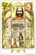Czech Republic - 2016 - Charles IV, Holy Roman Emperor And Czech King - Mint Souvenir Sheet - Ongebruikt