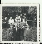 CROATIA  --  WWII   --  ORIGINAL PHOTO   --  NDH OFFICER  --   6,3 Cm X 6,3 Cm - 1939-45