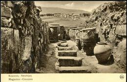 GR 01 KNOSSOS-Cnossos Griecheland-Greece Kreta-Créte Magasins Minos Kultur-Mimos Cultur UNESCO Ca 1941 - Griechenland
