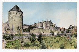 THOUARS  -- La Tour Du Prince De Galles Et L'école De Jeunes Filles Cpsm 14 X 9  N° 152  éd  Combier...pas Très Courante - Thouars