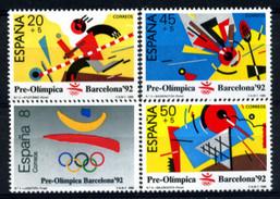 Spain 1988 España / Olympics Barcelona 1992 MNH Juegos Olimpicos / 044  38 - Verano 1992: Barcelona