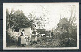 Bauern Bei Der Arbeit/ Landwirtschaft/ Trachten Um 1920? / Ukraine? - S/w - Beschrieben - Europa