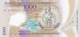 Vanuatu 1000 VATU Polymer - UNC - Vanuatu