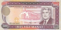 Turmenistan 500 Manat 1995 - UNC - Turkménistan