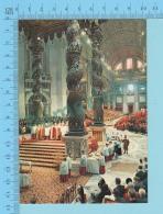 Pape, Papa, Pope -Office Papal A La Basilique St-Pierre - 2 Scans - Papes