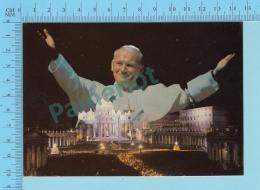 Pape, Papa, Pope - 1981 , St-Pierre De Rome, Papa Giovanni Poalo II, Pape  Jean Paul II - 2 Scans - Papes