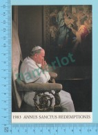 Pape, Papa, Pope - 1983 Annus Sanctus Redemptionis Photo Karsh, Papa Giovanni Poalo II, Pape  Jean Paul II - 2 Scans - Papes