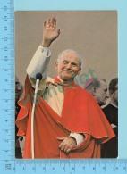 Pape, Papa, Pope - 1980 Narni Terni, Papa Giovanni Poalo II, Pape  Jean Paul II - 2 Scans - Papes