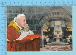 Pape, Papa, Pope - Tombe De Saint Francois, Joannes XXIII, Jeran XXIII- 2 Scans - Papes
