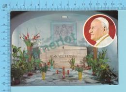 Pape, Papa, Pope - Tombe Du Pape, Joannes XXIII, Jeran XXIII- 2 Scans - Papes