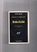 """SERIE  NOIRE  N ° 1303  --  DONALD  E .  WESTLAKE   --  """"""""  DROLE D ' ALIBI  """"""""  1969  --  BEG.......... - Série Noire"""