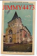 CPA - Eglise Saint Pierre ( XIIIè Siècle ) MOISSAC 82 Tarn Et Garonne - Phototypie  A P A - POUX  ALBI N° 29 - Moissac