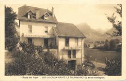 Lus-la-Croix-Haute (Drôme) - Le Touring-Hôtel Et Ses Montagnes - Edition Mollaret - Carte Non Circulée - Hotels & Restaurants