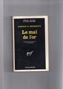 """SERIE  NOIRE  N ° 1066  --  GORDON  D .  SHIRREFFS   --  """"""""  LE  MAL  DE  L ' OR   """"""""  1966  --  BEG.......... - Série Noire"""