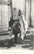 Scènes Et Types D'Afrique Du Nord - Jenue Arabe Sur Son âne - Carte LL N° 6055 Non Circulée - Afrique