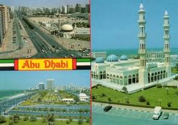- ABU DHABI.  - Scan Verso - - Emirati Arabi Uniti