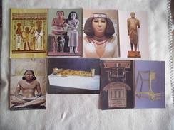 LOT DE 8 CARTES EGYPTE ANCIEN... - Cartes Postales