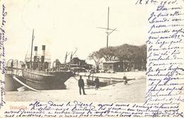 Ismaïlia Port-Saïd Sur Le Canal De Suez - Bateau Dans Le Port En 1900 - Carte Précurseur - Ismaïlia