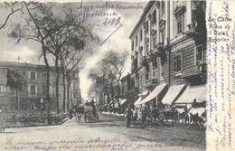 Le Caire - Place Du Café Egyptien, Belle Animation: Attelage - Ed. Lichtenstern & Harari - Carte Précurseur N° 369 - Le Caire