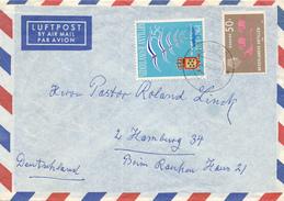 NEDERLANDSE ANTILLEN  - 1964  , Brief Nach Hamburg - Antillen